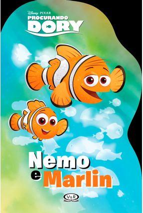 Nemo e Marlin - Procurando Dory - Livro Recortado - Disney   Nisrs.org