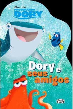 Dory e Seus Amigos - Procurando Dory - Livro Recortado - Disney   Nisrs.org