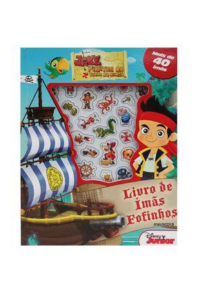 Jake E Os Piratas Da Terra Do Nunca - Livro De Imãs Fofinhos - Disney   Hoshan.org