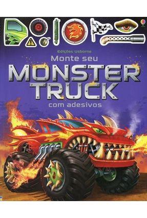 Monte Seu Monster Truck  Com Adesivos - Tudhope,Simon | Nisrs.org
