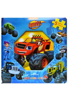 Blaze - Meu Primeiro Livro Quebra-Cabeças - Nickelodeon pdf epub