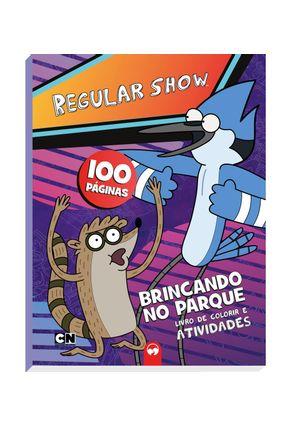 Livro 100 Paginas Regular Show - Editora Vale das Letras | Tagrny.org