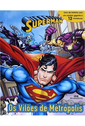 Superman - Os Vilões De Metrópolis - Comics,Dc pdf epub