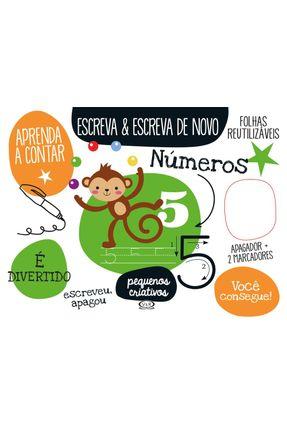 Escreva & Escreva De Novo: Números - Imagebooks Valério,Fabrício | Nisrs.org