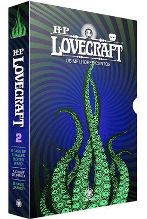 Box - HP Lovecraft - Os Melhores Contos - 3 Volumes - Parte II - Acompanha Pôster - Lovecraft,H. P. pdf epub