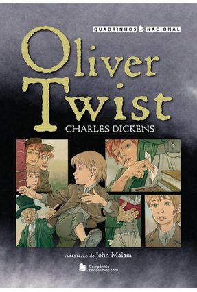 Oliver Twist - Col. Quadrinhos Nacional - Dickens,Charles pdf epub