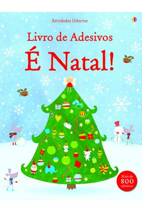 É Natal ! - Livro de Adesivos - Usborne | Tagrny.org
