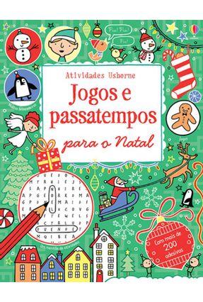 Jogos e Passatempos Para o Natal - Usborne   Hoshan.org