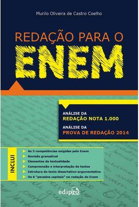 Redação Para o Enem - Coelho,Murilo Oliveira de Castro | Hoshan.org