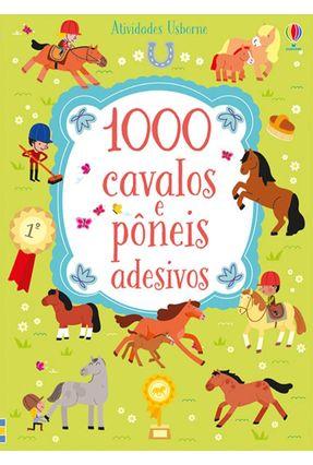 1000 Cavalos e Pôneis Adesivos - Lucy Bowman pdf epub