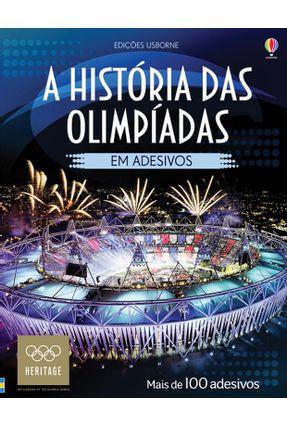 A História Das Olimpíadas Em Adesivos - Meredith,Susan | Nisrs.org
