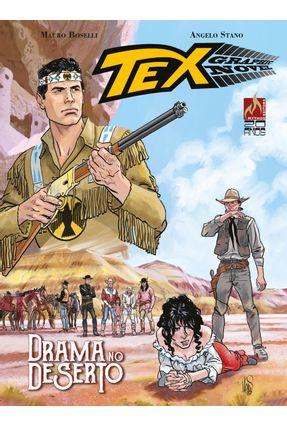 Tex Graphic Novel 3 - Drama No Deserto - Boselli,Mauro   Hoshan.org