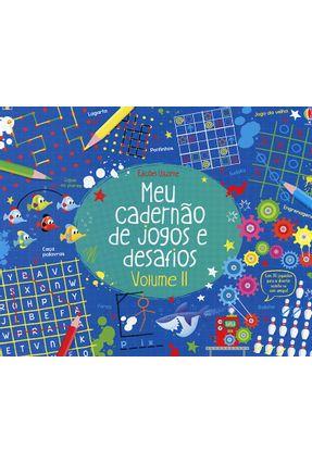 Meu Cadernão De Jogos E Desafios - Vol. II - Simon Tudhope   Hoshan.org