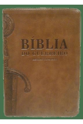 Bíblia do Guerreiro - Capa Marrom - Ágape,Editora   Hoshan.org