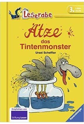Ätze, Das Tintenmonster - Leserabe - 3. Lesestufe Zurück - Scheffler,Ursel   Hoshan.org