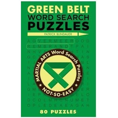 Green Belt Word Search Puzzles - Not-So-Easy