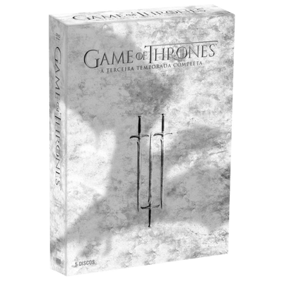 DVD Game Of Thrones - 3ª Temporada - 5 Discos
