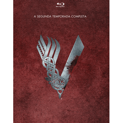 Blu-ray Vikings - 2ª Temporada - 3 Discos