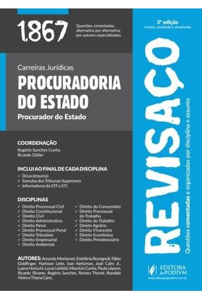 Revisaço Procuradoria Do Estado - Procurador Do Estado - 1.867 Questões Comentadas -3ª Ed. 2015 - Rogério Sanches Cunha   Hoshan.org