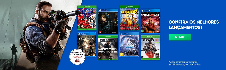 Consoles, jogos e Acessórios para Games e PCs é na Saraiva!