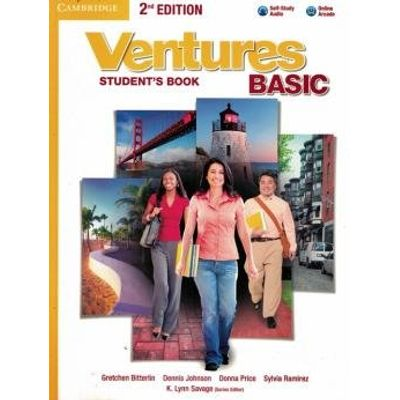 Ventures Basic Sb With Audio CD And Online Wb - 2Nd Ed