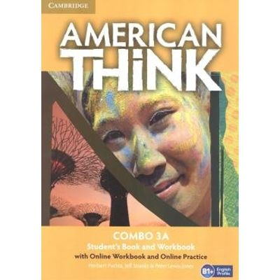 American Think 3A Combo Sb With Online Wb And Online Practice - 1St Ed