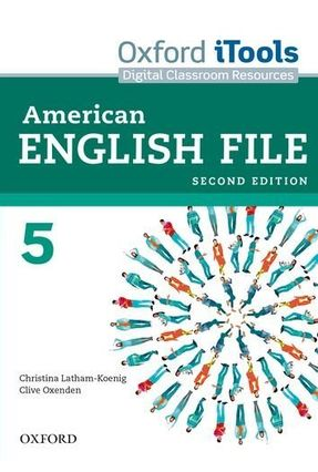 American English File 5 - Oxford Itools - Second Edition - Editora Oxford | Hoshan.org