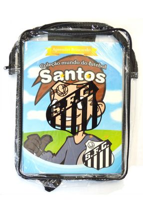 Mochila de Plástico - Santos - Col. Mundo do Futebol