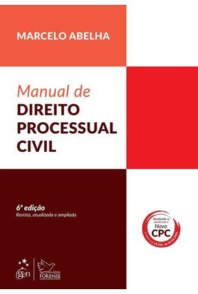 Usado - Manual De Direito Processual Civil - 6ª Ed. 2016 - Rodrigues,Marcelo Abelha   Hoshan.org