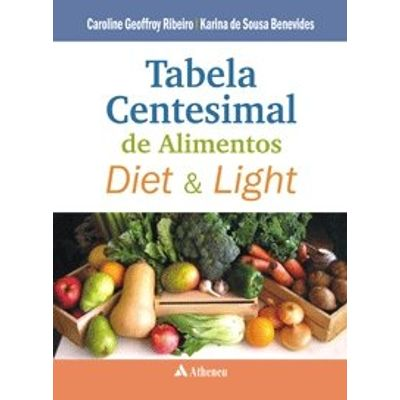 Tabela Centesimal dos Alimentos Diet e Light