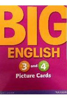 Big English 3 - Picture Cards - Editora Pearson | Nisrs.org