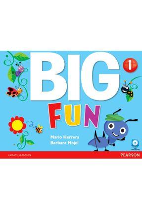 Big Fun - Level 1 - Workbook With CD-ROM - Salazar,Mario Herrera Hojel,Barbara | Hoshan.org