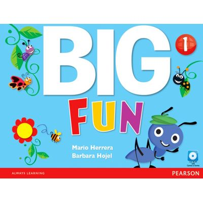 Big Fun - Level 1 - Workbook With CD-ROM