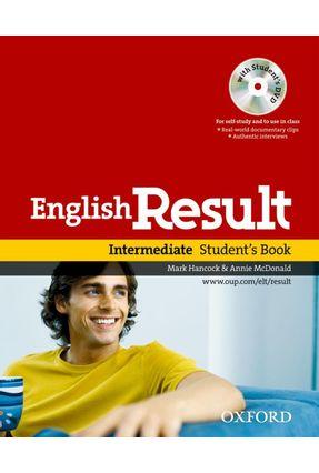 English Result - Intermediate - Student's Book With DVD Pack - Oxford,Editora pdf epub