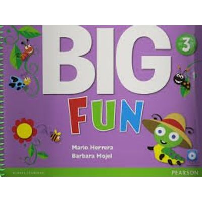 Big Fun - Level 3 - Student'S Book With CD-ROM