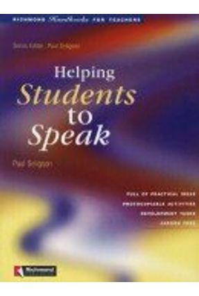 Helping Students To Speak - Richmond Publishing pdf epub
