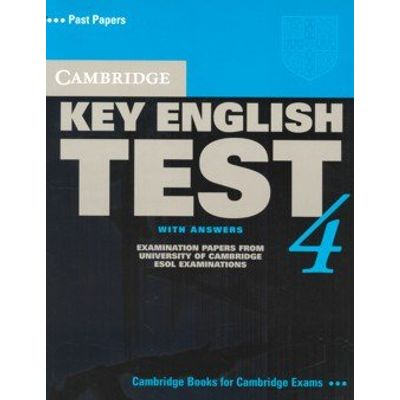 Cambridge Key English Test 4 - With Aswers