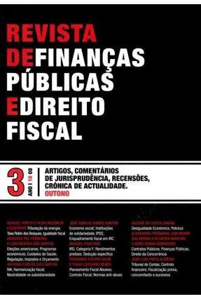 Revista De Finanças Públicas e Direito Fiscal - Ano I - Número 3 - Outono - Eduardo Paz Ferreira pdf epub
