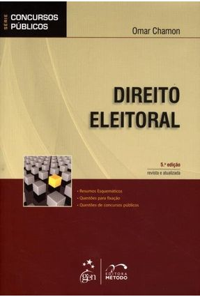 Direito Eleitoral - Col. Série Concursos Públicos - 5ª Ed. - 2012 - Chamon,Omar pdf epub