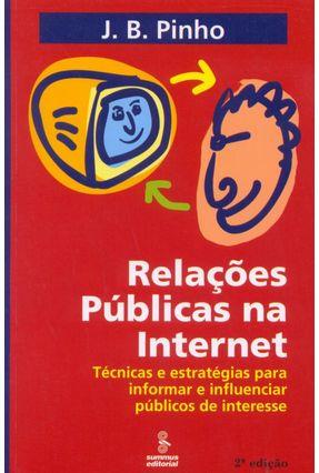 Relações Públicas na Internet - Pinho,J.b. | Hoshan.org