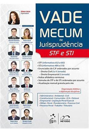 Usado - Vade Mecum de Jurisprudência Stf e Stj - Faga,Tânia pdf epub