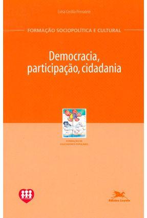 Democracia, Participação, Cidadania - Vários Autores pdf epub