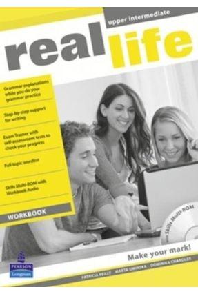 Real Life - Upper Intermediate - Workbook + Multi-Rom Pack - Editora Pearson   Nisrs.org