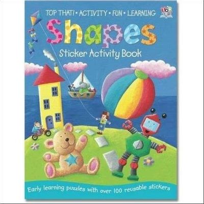 Shapes  - Col. Sticker Activity Book