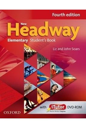 New Headway Elementary - Student's Book With Itutor DVD-ROM - Fourth Edition - Soars,Liz Soars,John | Hoshan.org