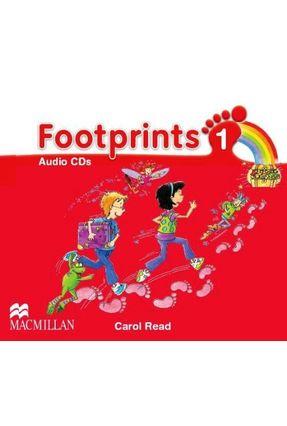 Footprints 1 - Audio CDs - Editora Macmillan | Hoshan.org