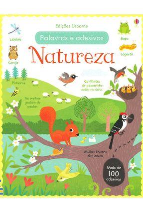 Natureza - Palavras e Adesivos - Brooks,Felicity Brooks,Felicity pdf epub