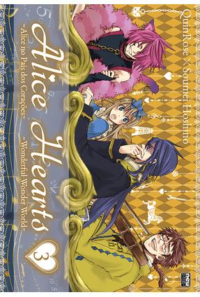 Alice Hearts Vol. 3 - Rose ,Quin | Hoshan.org