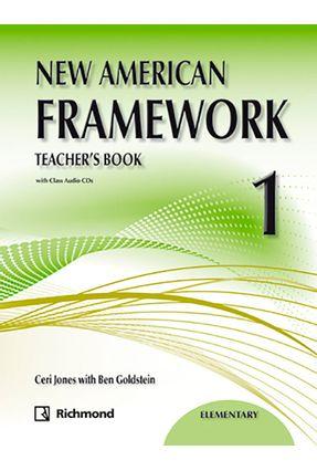 New American Framework 1 - Teacher's Book  - 2ª Ed. 2011 - Ceri Jones with Ben Goldstein | Tagrny.org