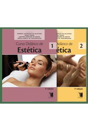 Curso Didático de Estética - 2 Volumes - 2ª Ed. 2014 - Perez,Erika Oliveira ,Andrea Lourenço De Souza,Janaina Binhame De pdf epub